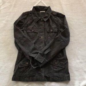 Dark Brown Utility Jacket